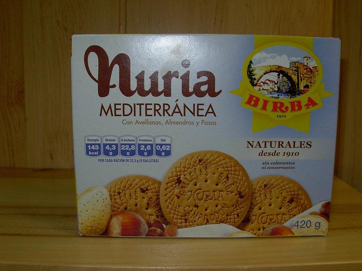Nuria Mediterranea Birba 420gr