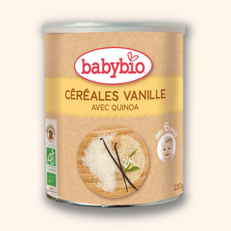 Papilla Cereales Quinoa Vainilla