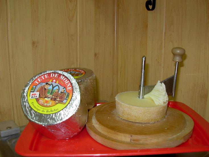 Tete de Moine (Queso suizo)