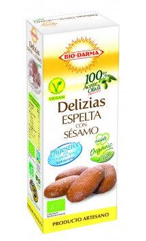Delizias de espelta con sésamo