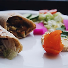 Falafel Wrap (GF and Vegan available)
