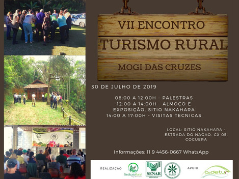 VII Encontro de Turismo Rural - Mogi das Cruzes, SP