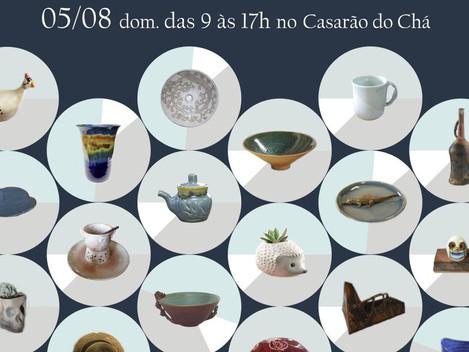5º Festival de cerâmica Casarão do chá - Cocuera, Mogi das Cruzes