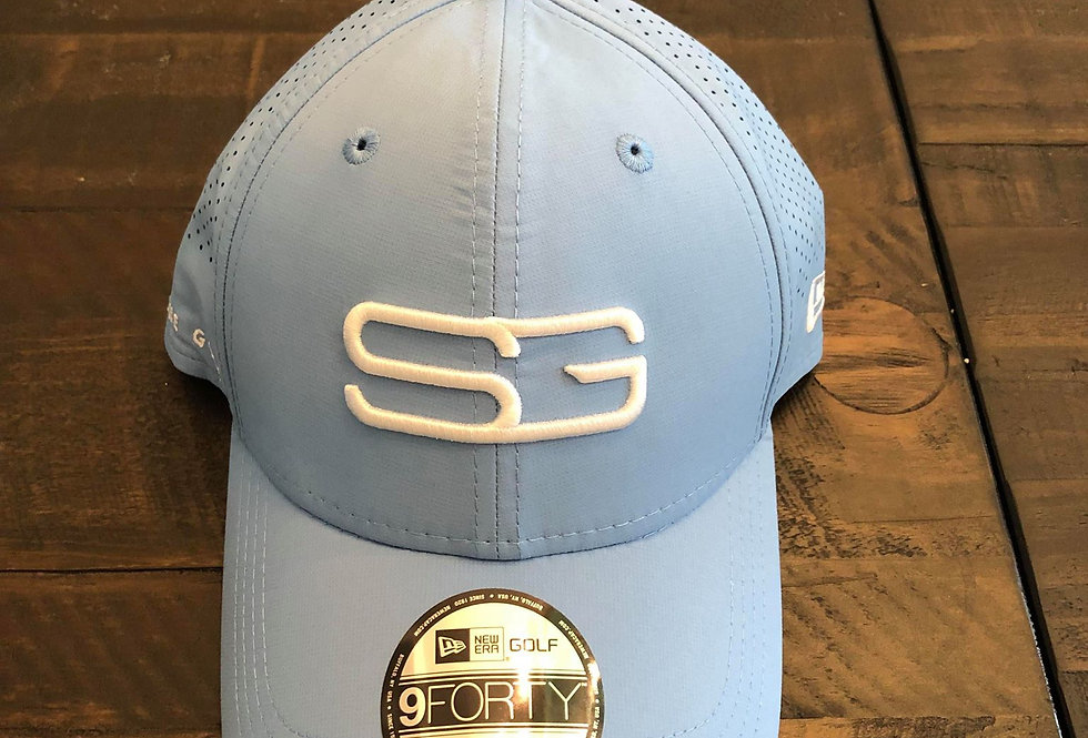Spallone Golf Hat - Sky Blue (Adjustable)