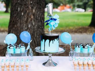 Roman's 1st birthday party + picnic