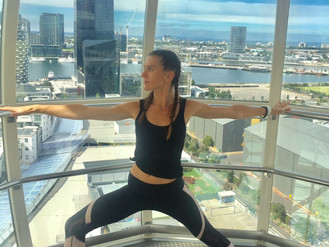Yoga in the Sky on the Melbourne Star