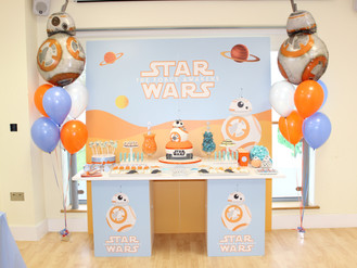 Star Wars 7th birthday party by Les Enfants in London