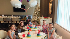 A Rainbow Tea Party for Ava