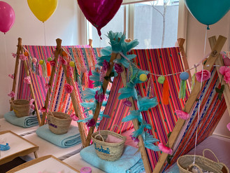A Magical #SleepoverParty for our little friend Isabel