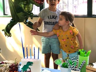 Alex's Dino 5th Birthday Party