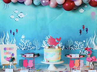 Ava's 5th birthday party at SEA LIFE Melbourne Aquarium