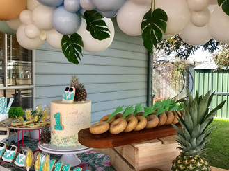 Ollie's Baby Pineapple 1st Birthday Party
