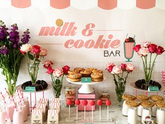 Milk & Cookie Bar with Charlie's Cookies