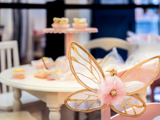 Butterfly Tea Parties With Pottery Barn Kids