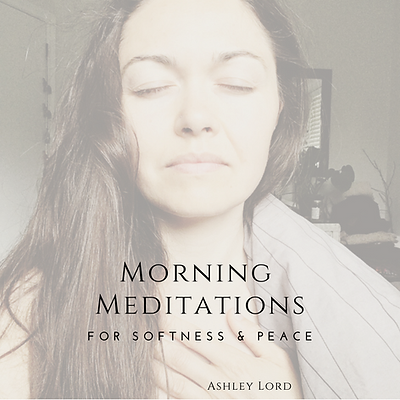 morning meditations_ for softness & peac