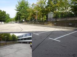 Parkplatzmarkierung Weimar 1