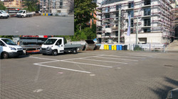 Parkplatzmarkierung Jena