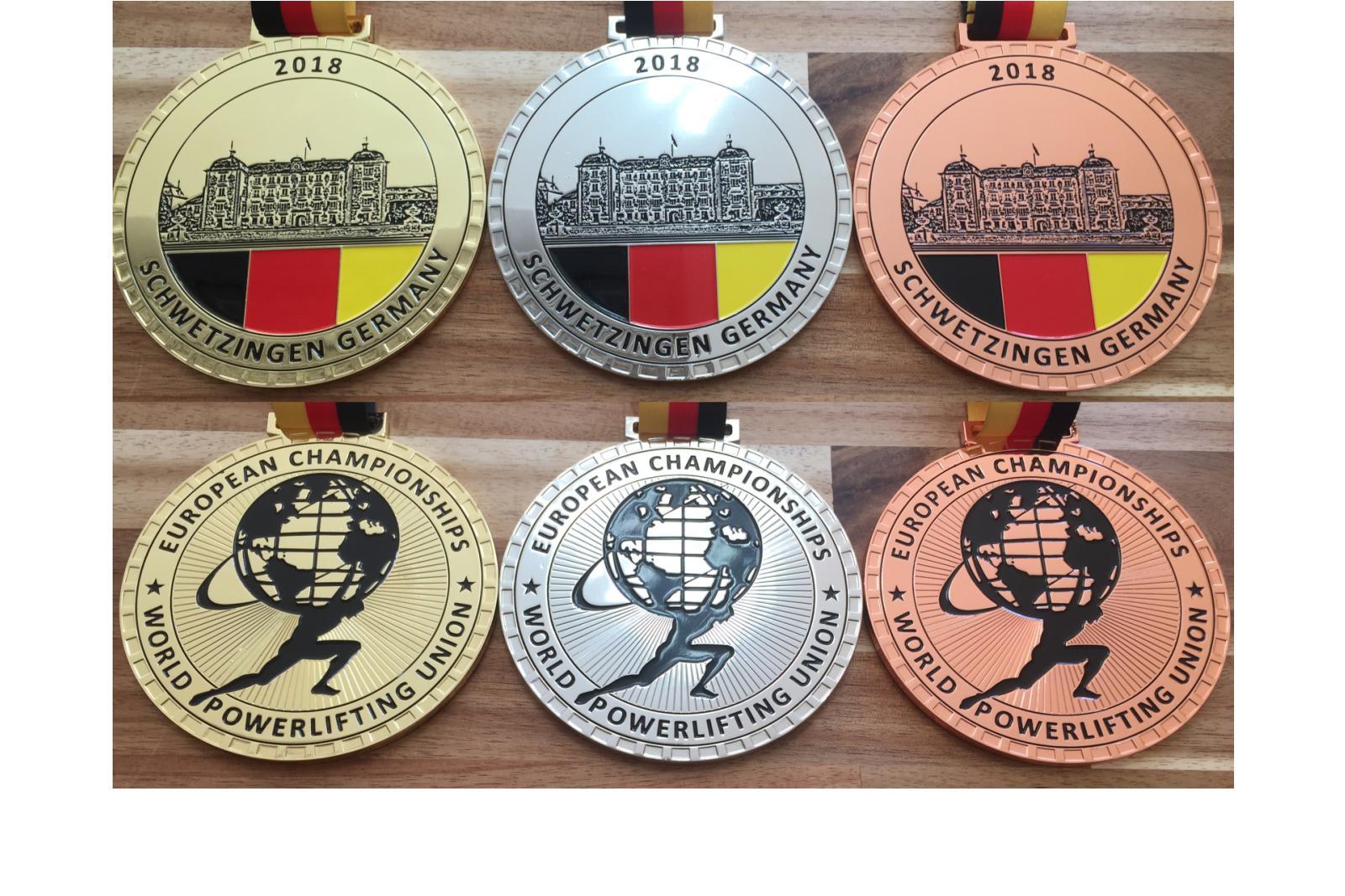 Medaillen mit individueller Prägung