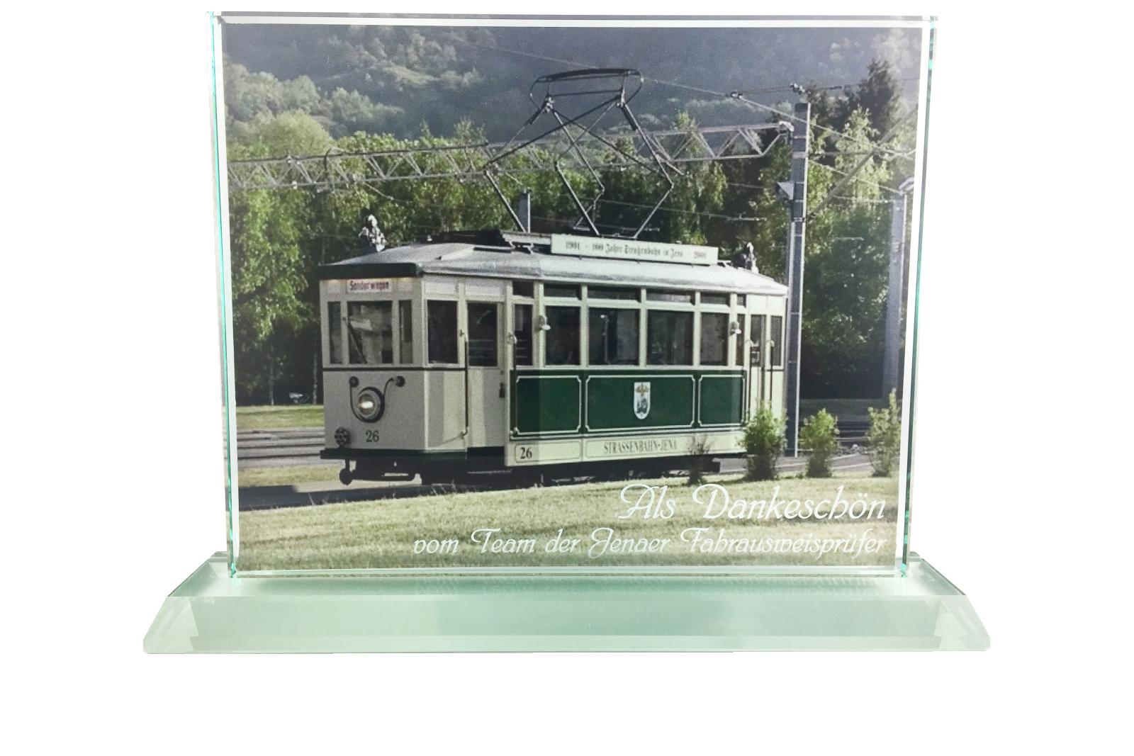 Glaspokal Digitaldruck