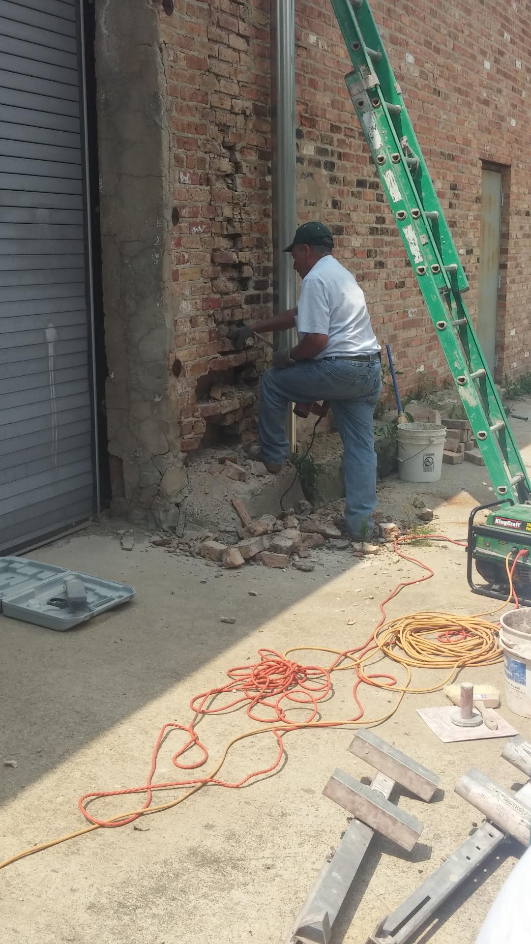 brick removal
