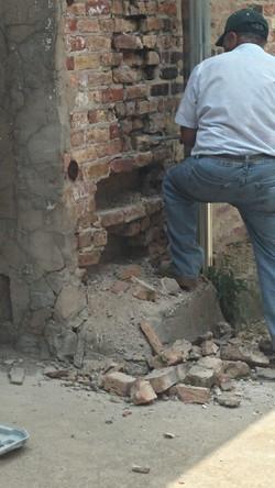 brick work removal