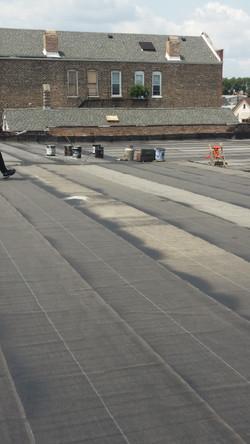 modified bitumen roof complete