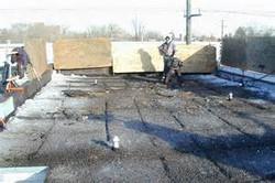 gravel roof tear off in schaumburg