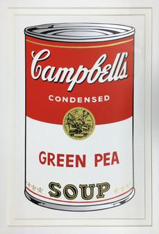 アンディ・ウォーホル「キャンベル・スープ(トマト)」