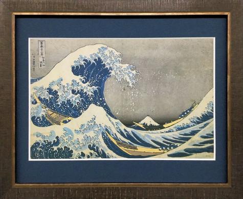 葛飾北斎 富嶽三十六景「神奈川沖浪裏」