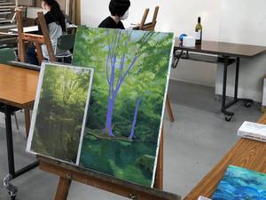 無料体験講座 8/27.9/17 絵画教室HIRO