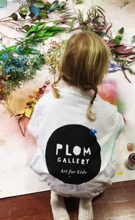 PLOM Gallery. Contemporary Art for Kids.