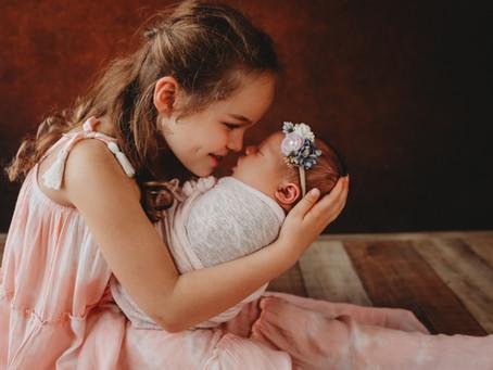 Newborn Photographer Cypress TX, Siblings