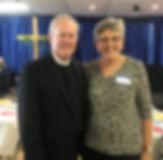 President Carol Piechoski &Pastor Charle