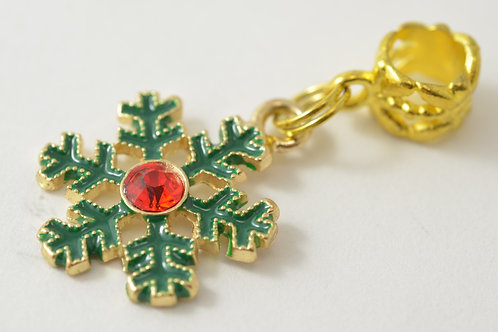 Green&Gold Snowflake