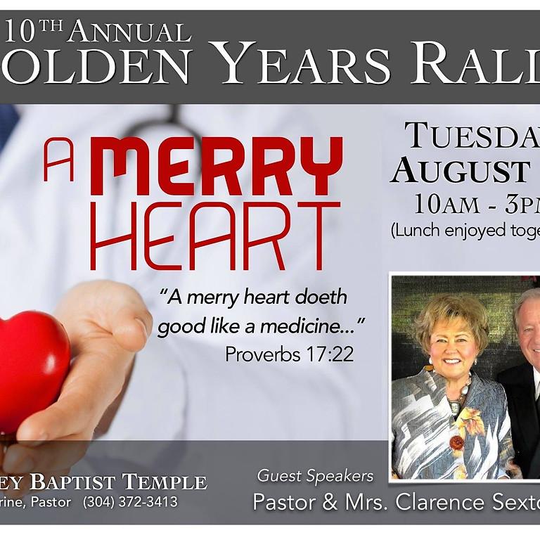 Golden Years Rally