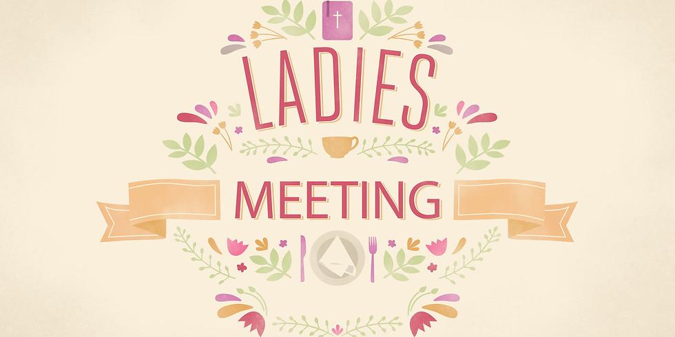 Ladies Fellowship Meeting