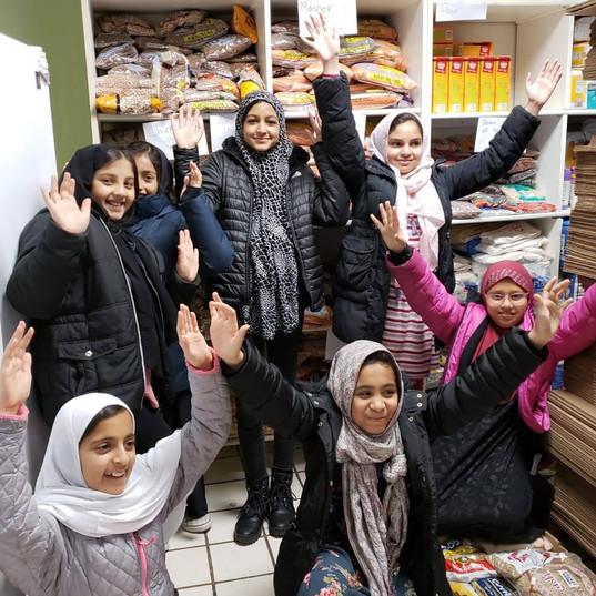 5th Grade Food Pantry Service