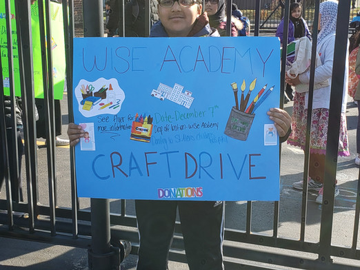 Craft Drive for Children's Hospital- Hosted by 6th Graders
