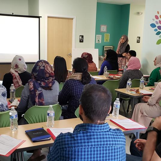 Teacher's Training Day 1