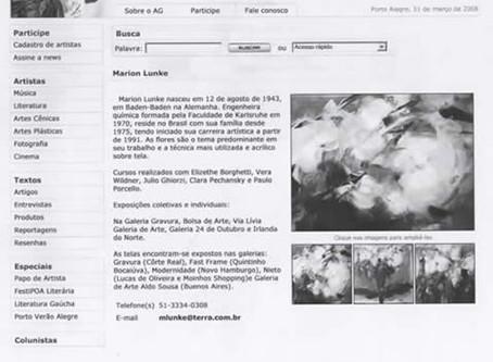 Artistas Gaúchos - site de divulgação
