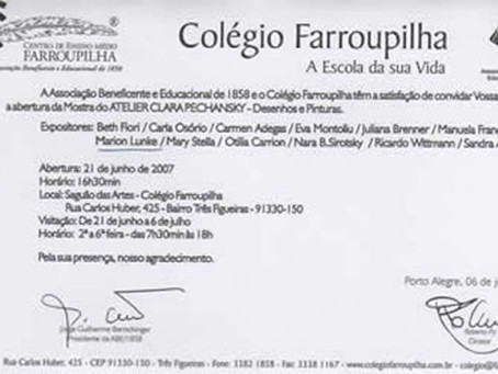 Exposição Colégio Farroupilha 2007