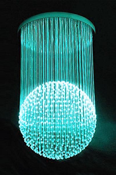 Fiber Optic Chandelier Color-changing light (BALL) Embedded LED lighting system