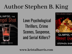 Welcome Author Stephen B. King!