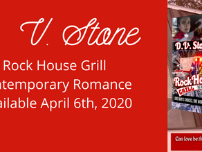Welcome Author D.V. Stone!