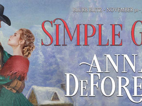 Welcome Author Anna DeForest!
