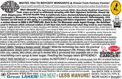 boycott monsanto & CAFOs