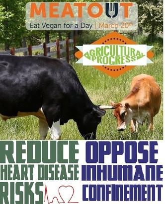 Meat-fest mitigation 2017! Manure education & Cancer-reality Actions!