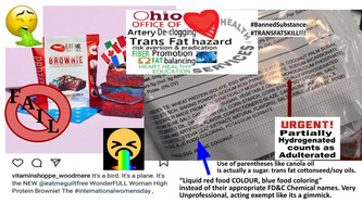 Partially Hydrogenated Oils, fully banned re-emerging in food supply. nada mas NON-GRAS
