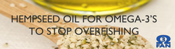Hempseed oil is not overfishing