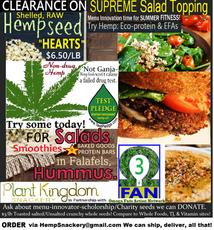 Hemp Nutrition Outreach to Corner Stores & Restuarants
